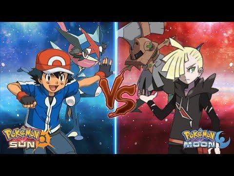 Pokemon Sun and Moon: Kalos Ash Vs Gladion (What If kalos Ash Fight Gladion instead)