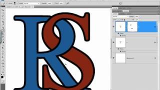 Criando letras entrelaçadas no Photoshop CS4