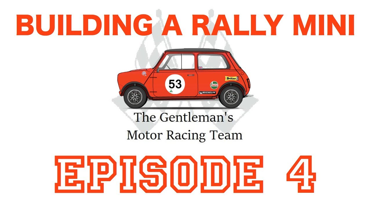 Building A Classic Rally Mnini Part 4 Nec Autosport 2019 Youtube