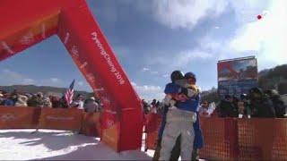 JO 2018 - Redmond Gerard champion olympique