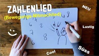 Zahlenlied für Kinder ♫ ZAHLENSPIEL-Kinderlied ♫ Bewegungslieder, Spiellied, Mitmachlied, Lernlieder