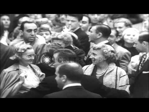 Celebrities arrive at the Premier of the film 'Thunder Bay' at the Times Square i...HD Stock Footage