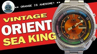 Vintage Orient SK (Sea King) - Full Review - I Review Crap!