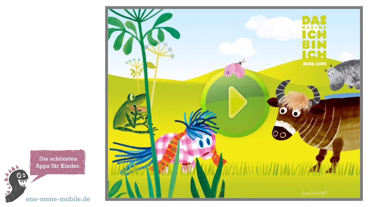 Schöne Kinder-App zum Lesen 📙 Das kleine Ich bin Ich 📙 App-Vorschau &  Gameplay