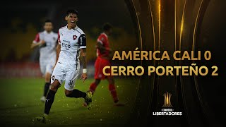 América de Cali vs. Cerro Porteño [0-2] | RESUMEN | Fecha 1 | CONMEBOL Libertadores 2021
