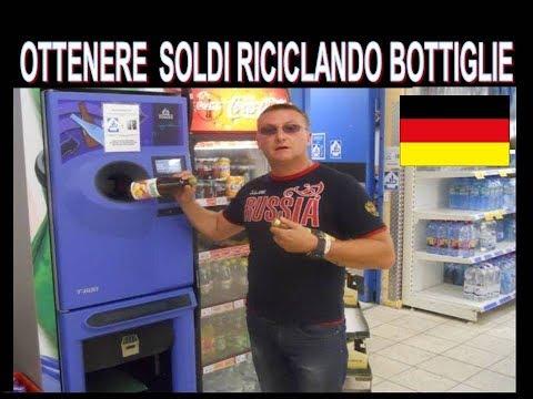 Come ottenere soldi riciclando bottiglie e lattine vuote in Germania !!!