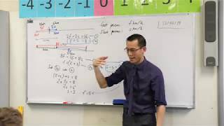 Forming Simultaneous Equations (1 of 2: Fast & Slow Walkers)