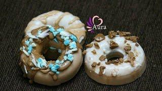 Handmade Soap Tutorial 3 - Donut shaped Orange flavour Soap (Melt & Pour)