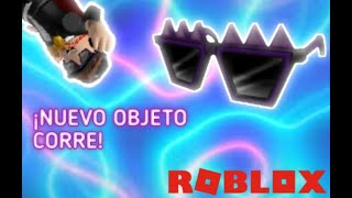 NEW PROMOCODE(ROBLOX)NEW FREE OBJECT CORRAN!!!