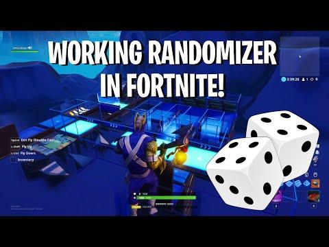 How To Make A Working Randomizer / Dice Machine In Fortnite Creative