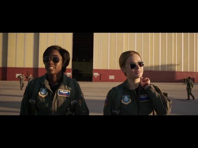 CAPTAIN MARVEL Official Trailer 2019 Superhero Movie HD