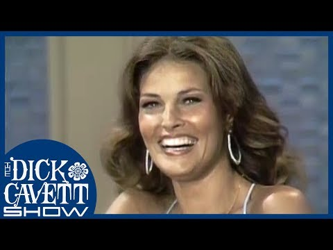 Raquel Welch Performing Her Own Stunts | The Dick Cavett Show