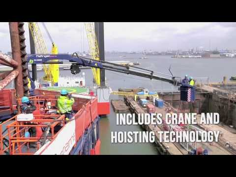 Hubert Palfinger Technologies GmbH, Offshore Maintenance and Inspection, aerial work platform
