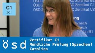 ÖSD Zertifikat C1 – Mündliche Prüfung (Sprechen)