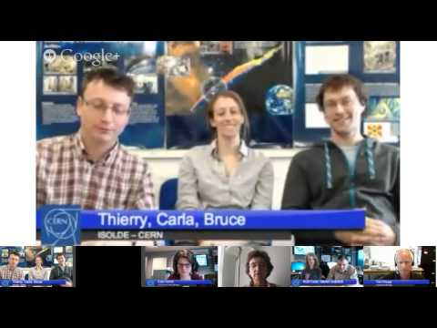 Hangout with CERN: ISOLDE - The dream of the alchemists (S03E06)