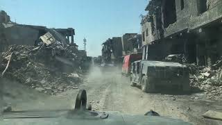 Counter terrorism forces entering Old Mosul