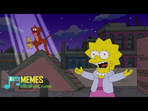 Lisa sing Dont rain on my parade - Los Simpson