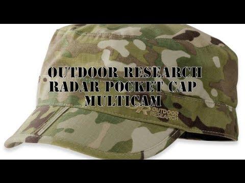615cb674 Outdoor Research Radar Pocket Cap Multicam - YouTube