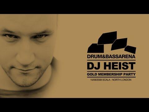 DJ Heist - Live at Drum & Bass Arena Gold - Scala, London - 2008