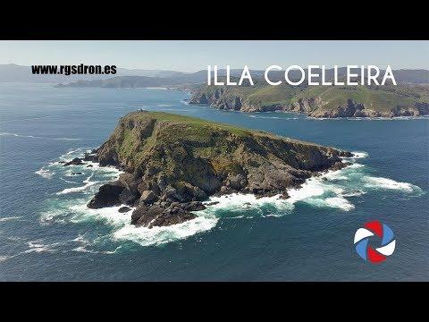 ILLA COELLEIRA - La isla templaria de A Mariña - O Vicedo - Lugo (RGSDron)