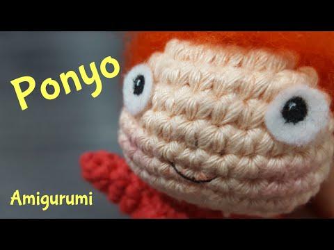 Amigurumi Ponyo crochet + needle felting - Hayao ...
