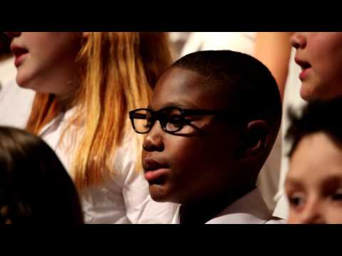 "2017 Franklin Pierce Elementary Honor Choir -- ""Song of Peace"""