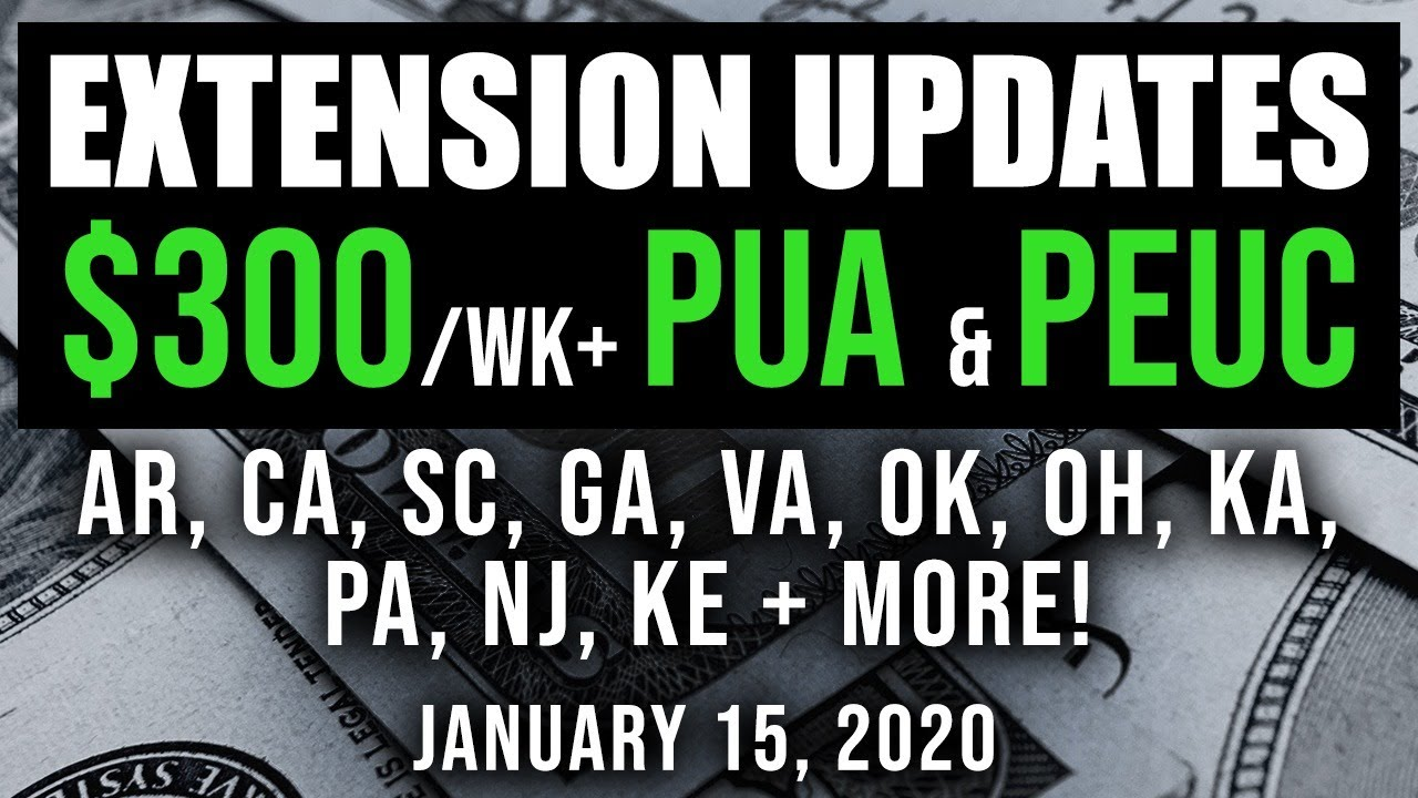 UPDATE! UNEMPLOYMENT EXTENSION + $300 STATE BY STATE! 11 WEEKS NEW UNEMPLOYMENT BENEFITS 01/15/2021 - download from YouTube for free