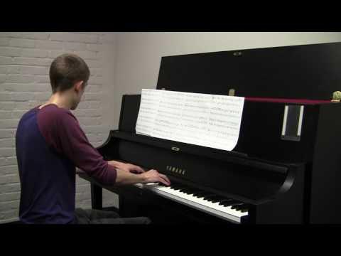 Like A River Glorious - Piano