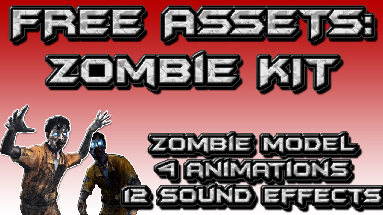 FREE ASSET FRIDAY - Zombie Model, Animations, and Sound Effects