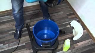 Обзор профессионального пылесоса-экстрактора  ACG x1700