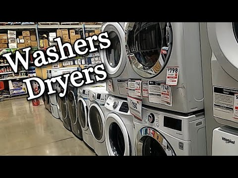 Lowe's Washers & Dryers