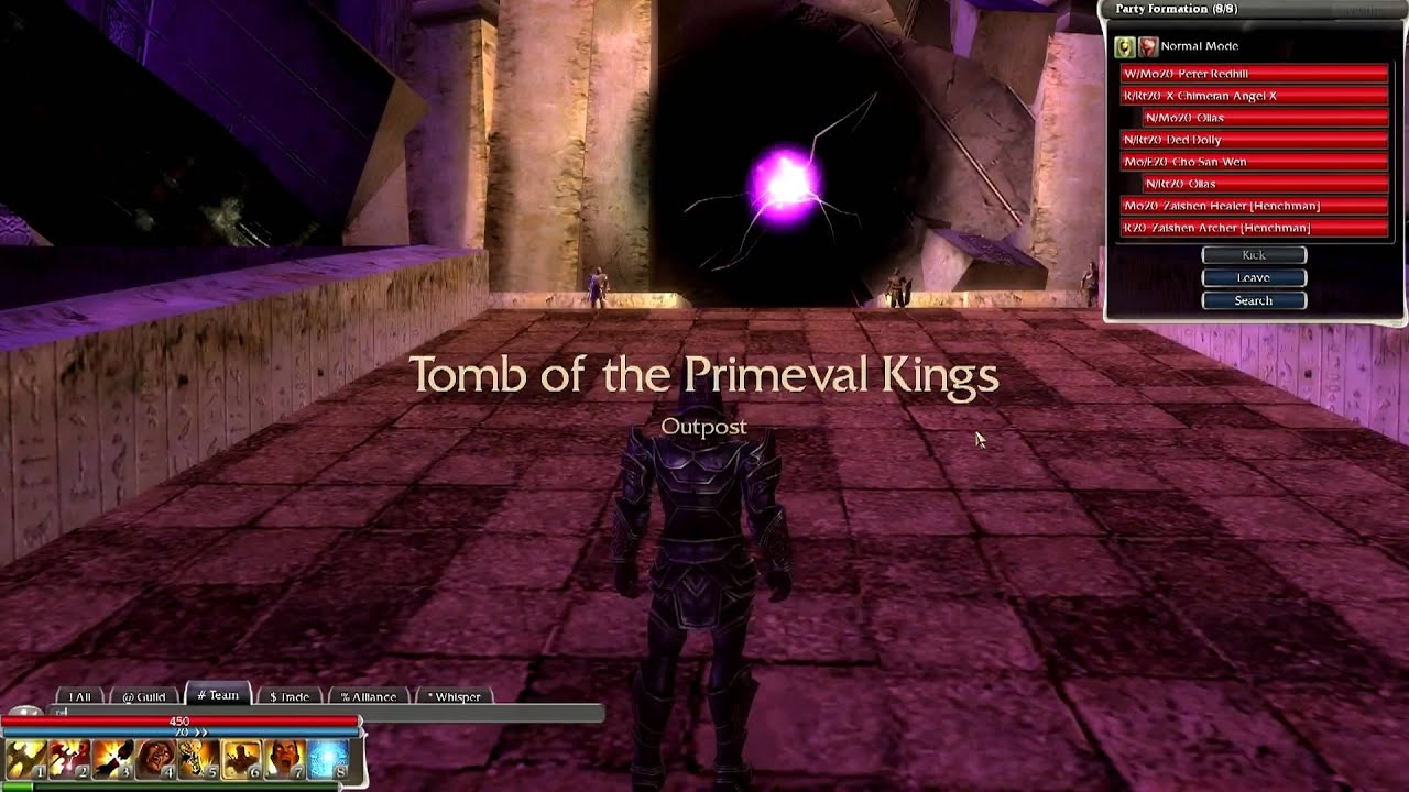 Guild Wars Tomb Of The Primeval Kings Part 1 2 Youtube