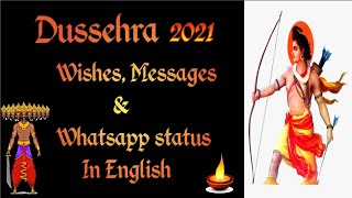 Dussehra 2020 | Dussehra Wishes & Messages | Dussehra whatsapp status | Dussehra Quotes in english |