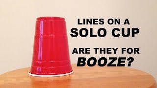 What Do The Lines on Solo Cups Mean? [Jersey Joe # 256]