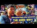 X-MEN GETTING POWERS THE HARD WAY