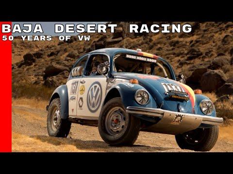 50 Years Of Volkswagen Baja Desert Racing