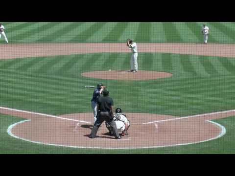 TAYLOR, CLAYTON 3RD BASEMAN throw to first groundout