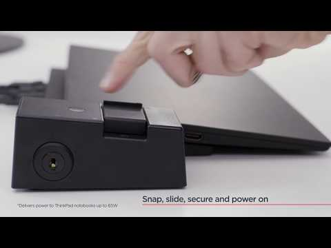 ThinkPad Pro Docking Station Tour