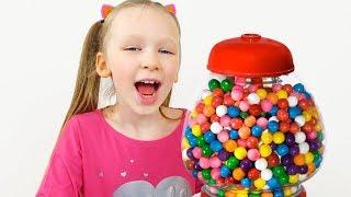 Лиза и истории про вредные сладости - примеры правильного поведения