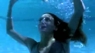 Harper's Island - Katie Cassidy is trapped under pool cover, DROWNS, SAVED (UNCONSCIOUS, CPR) thumbnail