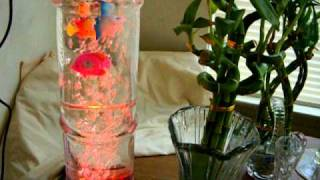 Misting Fountain With  Fish Tank Stand