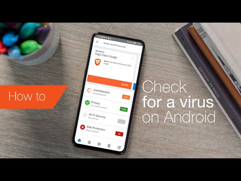 How to check for an Android virus