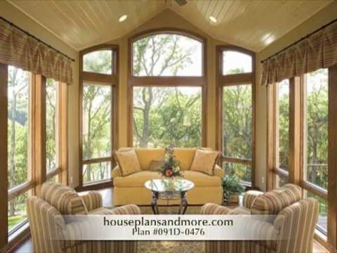 Homes With Screen Porches Video House Plans And More