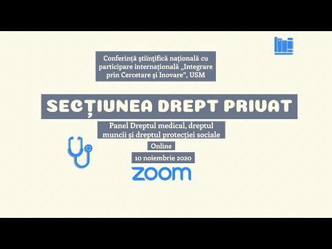 Sectiunea Drept privat - Panel Drept medical și Drept social (MD)