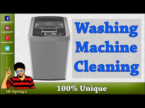 How Clean Top Load Washing Machine in Hindi