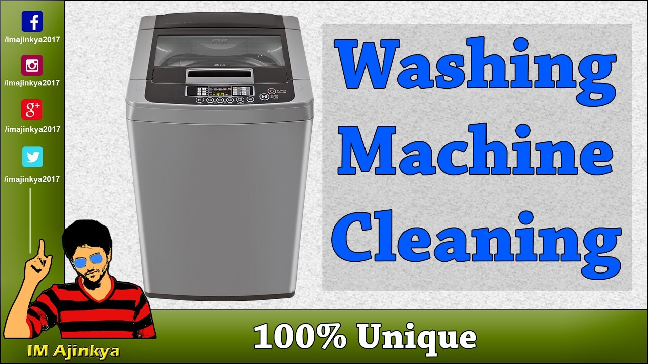 How Clean Top Load Washing Machine In Hindi Youtube