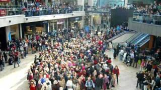 Big Spender Flashmob Cabot Circus, Bristol