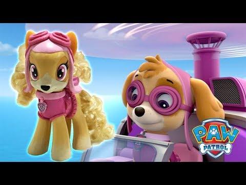 Custom SKYE PAW PATROL PONY Tutorial Nickelodeon Jr DIY My Little