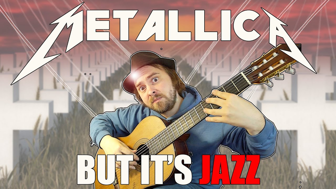"""when a jazz guitarist plays """"Master of Puppets"""" by Metallica"""