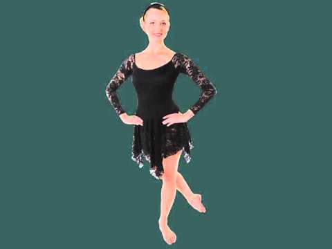 Set Of Picture Ideas | Black Ballet Costumes Romance